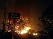 Hà Nội 1 ngày 2 vụ hỏa hoạn: Lại cháy lớn tại ngõ 80 phố Đại Linh, 'đốt' hàng chục tỷ đồng