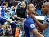 CHÍNH THỨC: Sergio Aguero bị treo giò 4 trận sau pha đá xấu với David Luiz