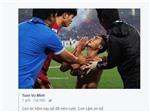 Khoảnh khắc Minh Tuấn tặng bàn thắng cho cha khiến hàng vạn người xúc động