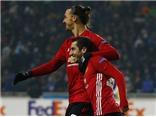 Mkhitaryan 'mở tài khoản' bằng pha solo tuyệt đỉnh, giúp Man United thắng dễ ở Europa League