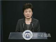 SỐC: Tổng thống Hàn Quốc Park Geun Hye tạm thời bị đình chỉ chức vụ