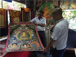 Thanka - nghệ thuật Phật giáo truyền thống của vùng Himalaya
