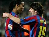 Ronaldinho và Messi: Mối quan hệ của những thiên tài