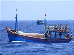 Malaysia bắt giữ tàu cá cùng 12 ngư dân Việt Nam