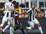 Torino 1-3 Juventus: Derby Turin gọi tên Higuain!