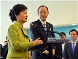 TTK LHQ Ban Ki-moon sẽ là 'ứng viên' kế nhiệm Tổng thống Hàn Quốc Park Geun-hye?