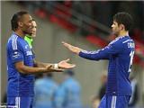Diego Costa hoàn toàn có thể sánh ngang Drogba