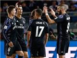 America 0-2 Real Madrid: Ronaldo 500 và kỷ lục mới của Zidane