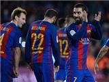 Barcelona 7-0 Hercules: Chấp MSN, Barca vẫn đá như đi dạo