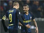 Pioli khen Icardi như 'thú dữ trong vòng cấm' sau cú đúp vào lưới Lazio