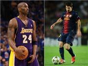 Siêu sao bóng rổ Kobe Bryant nói gì về Ronaldo và Messi?