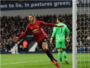 Ibrahimovic đe dọa thành tích ghi bàn của Messi trong năm 2016