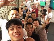 'Trăm kiểu' chúc mừng năm mới của sao bóng đá Việt