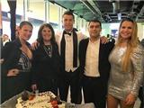 Từ Ronaldo đến Sharapova: Các sao thể thao thế giới đón năm mới thế nào?