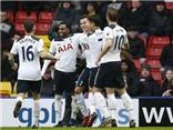 Cùng lập cú đúp, Kane và Alli đưa Tottenham vượt cả Man City lẫn Man United