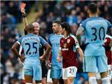 Fernandinho lại nhận thẻ đỏ, lần thứ 3 trong vòng 6 trận đá cho Man City