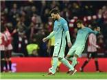 Thua 2 bàn trong 3 phút, Barca không lật ngược được thế cờ trước 9 người Bilbao