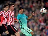 ĐIỂM NHẤN Athletic Bilbao 2-1 Barcelona: Nỗi ám ảnh Aduriz. Có MSN, Barca không còn 'vô đối'