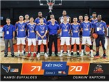 Hanoi Buffaloes thắng nghẹt thở tại giải bóng rổ số 1 Thái Lan