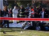 Lao xe tải vào binh sĩ Israel ở Jerusalem, 19 người thương vong