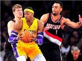 Xem L.A Lakers thua tâm phục khẩu phục trước Portland Trail Blazers