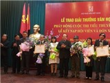 Giải thưởng Hội Nhà văn 2016: Nhà văn Chu Lai nhận giải sau 5 năm 'ngoại tình'