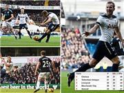Harry Kane lập hat-trick, Tottenham bỏ xa Man United, soán ngôi nhì của Liverpool