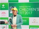 CENGOLF tổ chức thành công giải golf 'Swing for the children's Tet 2017'