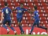 Đàn em của Ibrahimovic và Pogba giúp Man United 'rửa mặt' trước Liverpool