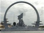 Hình ảnh đầu tiên về tượng đài Khu tưởng niệm chiến sỹ Gạc Ma