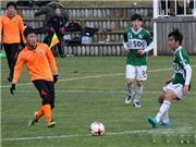 Xem Xuân Trường kiến tạo, Gangwon thắng trận đấu tập