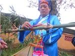 Tái hiện nghi lễ dựng cây nêu ngày Tết tại Đại Nội Huế
