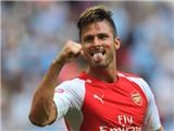 Olivier Giroud tiến cử đối thủ của Messi và Ronaldo cho Arsenal