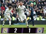 Real Madrid 2-1 Malaga: Sergio Ramos còn ghi nhiều bàn hơn Neymar