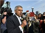 Thị trưởng Thủ đô London, Anh biểu tình phản đối Tổng thống Mỹ Donald Trump