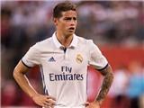 Zidane xác nhận James Rodriguez tiếp tục chấn thương, chưa hẹn ngày trở lại