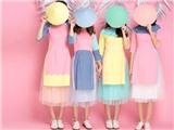 Mặc áo dài cách tân với 'váy đụp' có gì mà đáng lên án? (*)