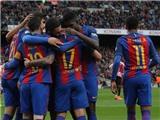 Barca 3-0 Bilbao: Messi lập kỷ lục đá phạt, Barca áp sát Real Madrid