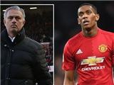 Martial cảm thấy mình là 'vật tế thần' của Mourinho