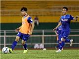 U23 Việt Nam tập đá đèn, Công Phượng sẽ đá chính trận gặp U23 Malaysia