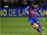 Sút phạt trúng xà ngang, Messi vẫn được cộng đồng mạng phong 'thánh'