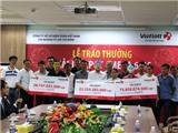 Vietlott trao giải Jackpot hơn 126 tỉ đồng cho ba khách hàng