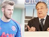 Đưa De Gea về Madrid, Florentino Perez mới ngủ ngon giấc