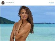Bồ cũ của Ronaldo lộ ngực trần, làm náo loạn mạng xã hội