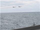 ẢNH ĐỘC: Su-24 Nga 'giỡn mặt' khu trục Mỹ trên Biển Đen