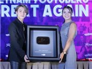 Sơn Tùng M-TP chính thức nhận nút vàng của YouTube