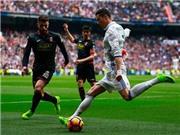 Ronaldo 'xâu kim' đối thủ nhanh siêu đẳng làm fan Real Madrid phát rồ