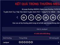 Kết quả xổ số Vietlott: Thêm người trúng giải độc đắc Jackpot 41 tỷ đồng