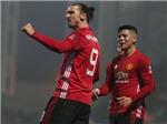 Blackburn 1–2 Man United: Ibrahimovic ghi bàn quyết định, Man United vào tứ kết cúp FA