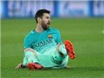 Leo Messi không ăn mừng dù ghi bàn thắng phút chót giúp Barca có 3 điểm